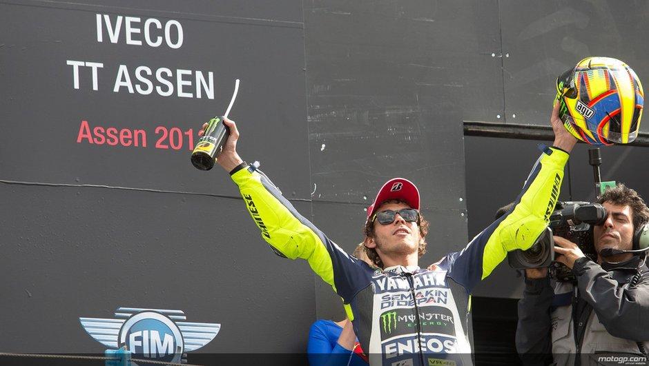 """MotoGP - Assen : Rossi """" Beaucoup de temps s'était écoulé depuis Sepang 2010 """""""