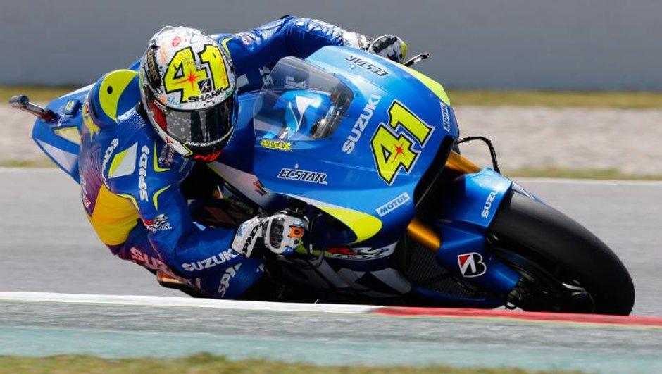 MotoGP – Catalogne 2015 :  Espargaro s'offre la pole avec Suzuki