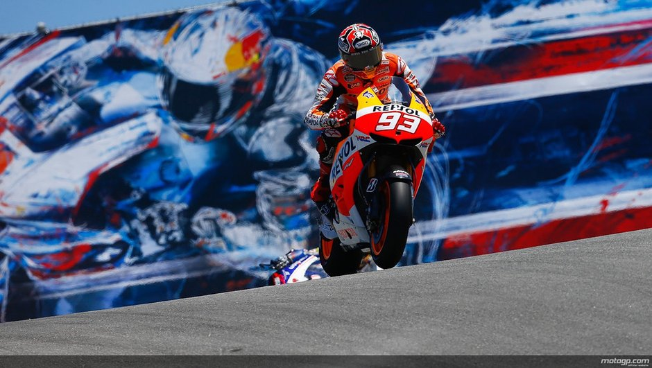 """MotoGP 2013 - Marquez : """"Hâte de revenir"""" à Laguna Seca !"""