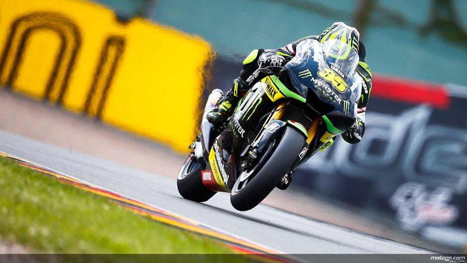 MotoGP 2013 - GP d'Allemagne : Crutchlow, premier pilote Yamaha