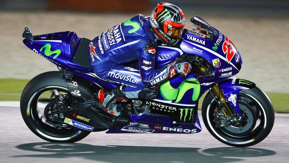 MotoGP - GP du Qatar 2017 : qualifications annulées, Maverick Viñales en pole position