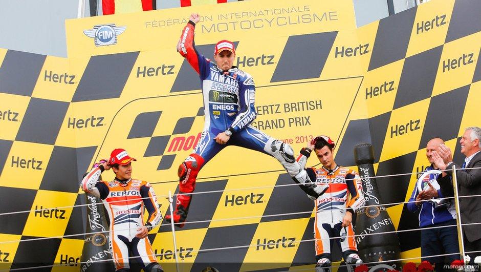 MotoGP - Silverstone 2013 : Lorenzo prend sa revanche