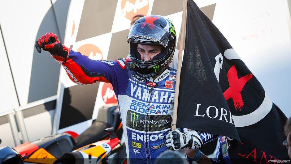 MotoGP - Japon 2013 : Lorenzo repousse le titre de Marquez avec sa victoire