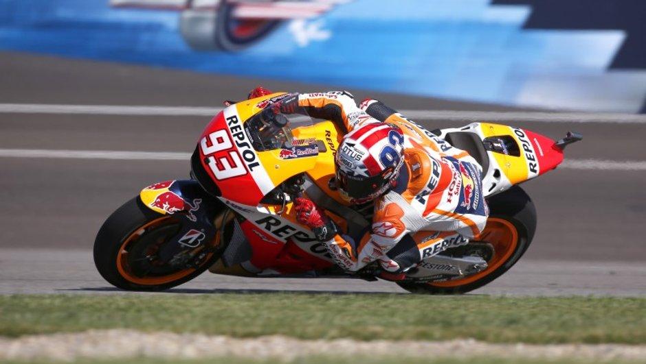 MotoGP – Indianapolis 2015 : La pole position pour Marquez