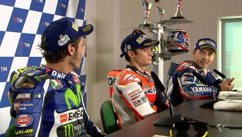 MotoGP – Misano 2016 : Echange musclé entre Rossi et Lorenzo