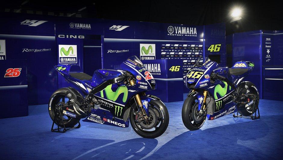 MotoGP 2017 : Yamaha dévoile la nouvelle YZR-M1 de Rossi et Viñales !
