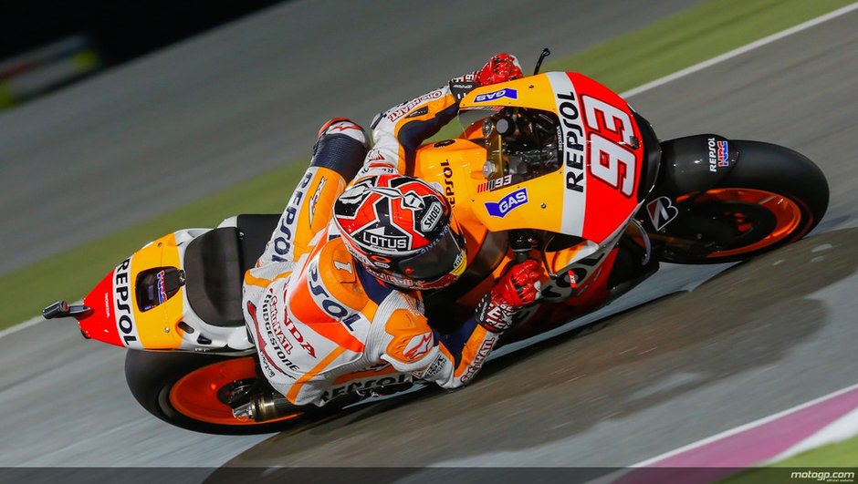 MotoGP 2014 - Qatar : Marquez, poleman inattendu