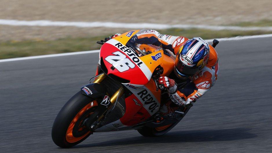 MotoGP - Essais 1 GP de France : Pedrosa et Lorenzo se disputent le chrono