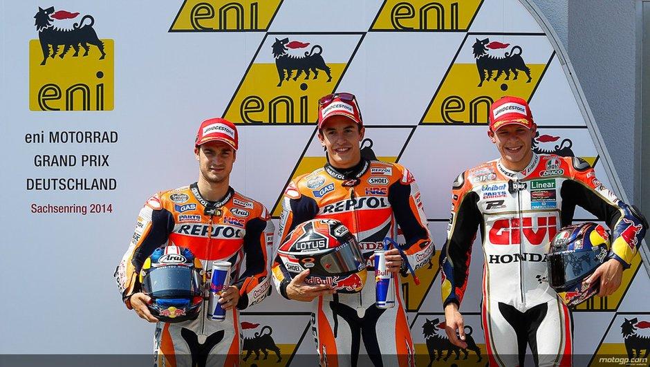 MotoGP - Sachsenring 2014 : Marquez renoue avec la pole position