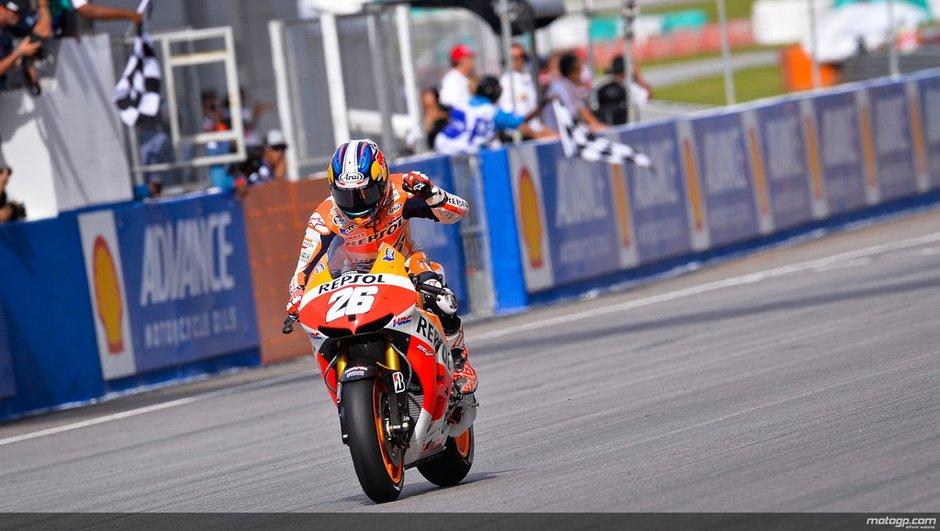 MotoGP - GP de Malaisie 2013 : Pedrosa renoue avec la victoire