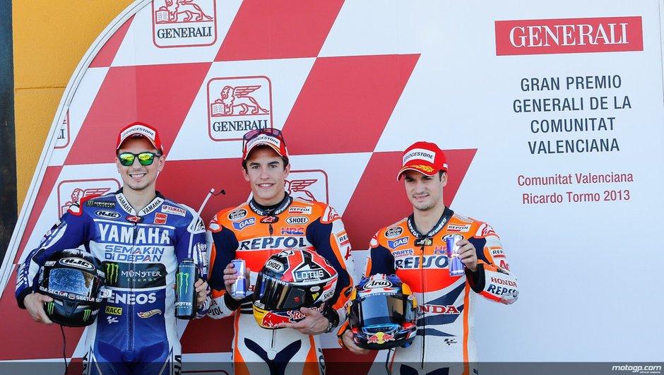 MotoGP - Valence 2013 : Marquez enfonce le clou en qualifications