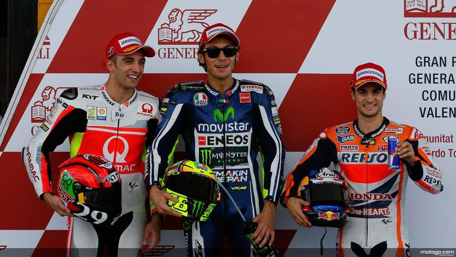 MotoGP - Valence 2014 : Rossi s'offre la dernière pole de l'année