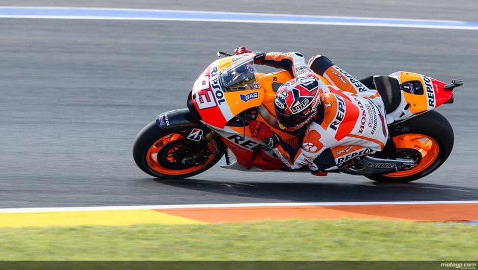 MotoGP - Valence 2014 : Marquez persiste en essais libres 3