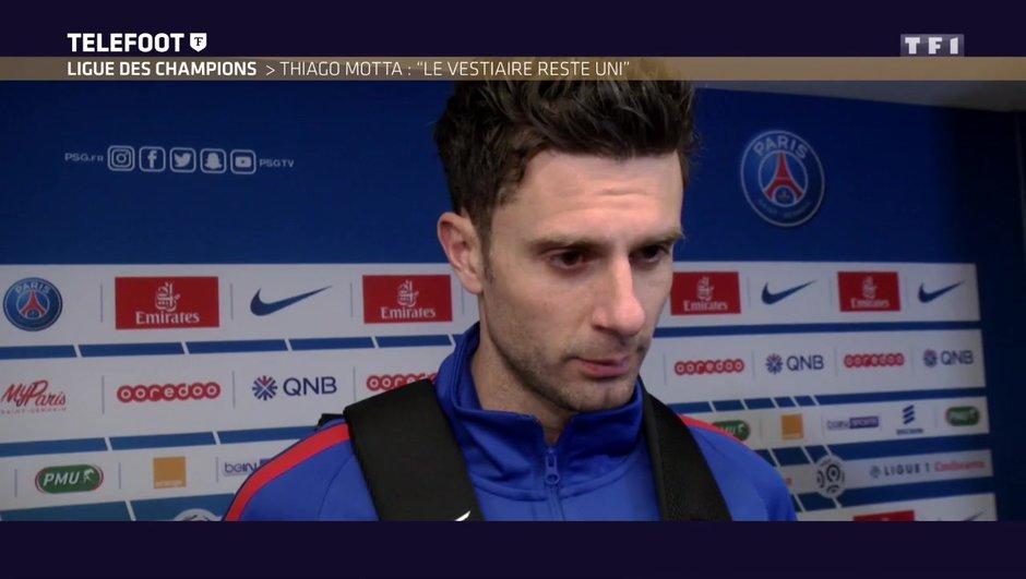 """[EXCLU Téléfoot 18/02] - PSG / Thiago Motta : """"Le vestiaire du PSG est uni"""""""