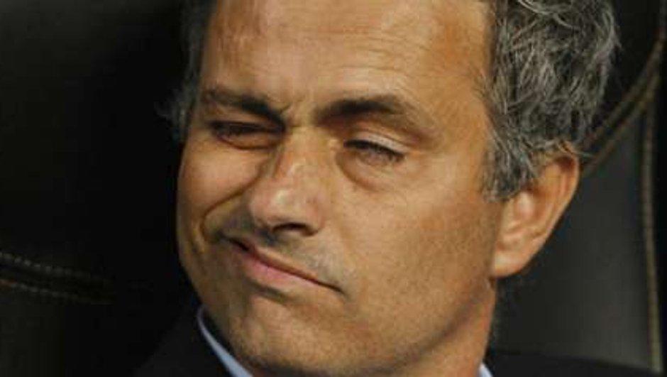 Mourinho: l'entraîneur du Real Madrid fait la moue