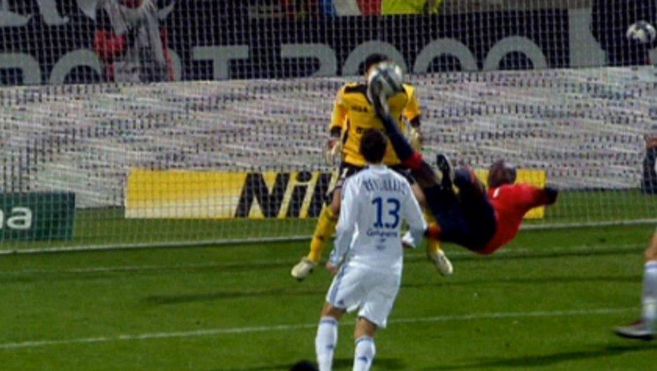 Moussa Sow, meilleur buteur de la Ligue 1