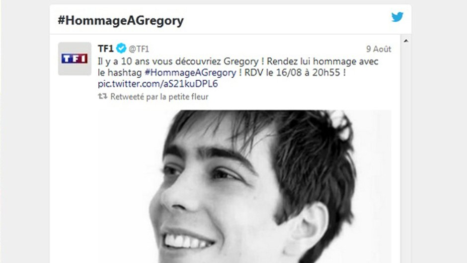 Hommage à Grégory Lemarchal : Soutenez sa cause sur les réseaux sociaux