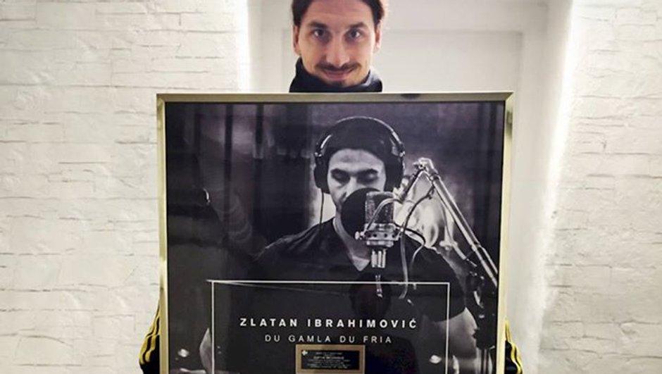 Musique : Zlatan Ibrahimovic disque d'or !