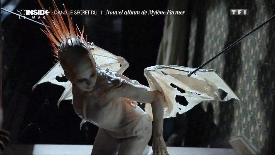 Mylène Farmer, les images de son nouveau clip