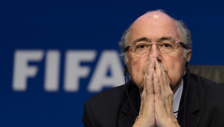 Sepp Blatter dans les tribunes pour Portugal-Maroc mercredi