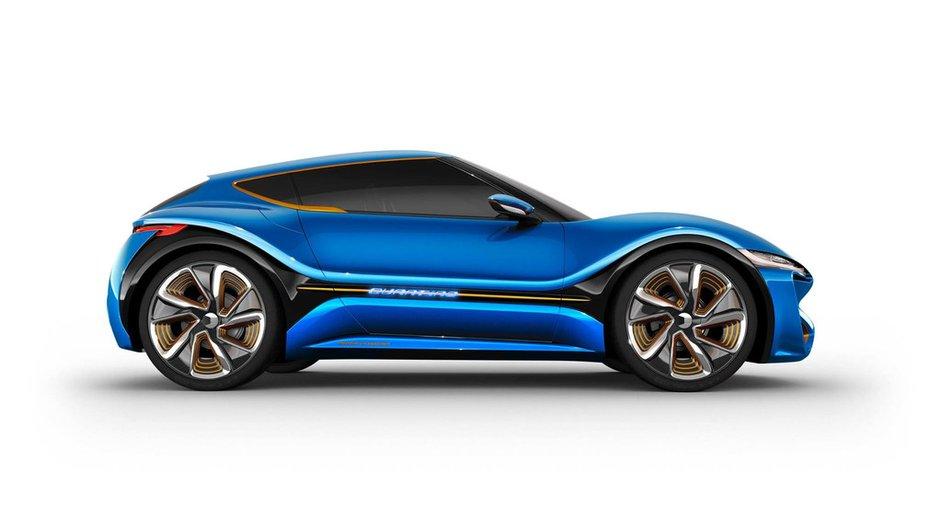 Nanoflowcell Quantino Concept 2015 : le coupé ionique à 1.000 km d'autonomie