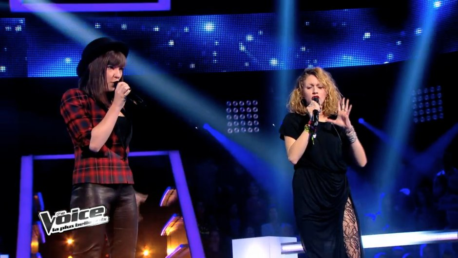 "The Voice 3 - Battles : Natacha Andreani et Cloé continuent leur ""Chemin"" (VIDEO)"