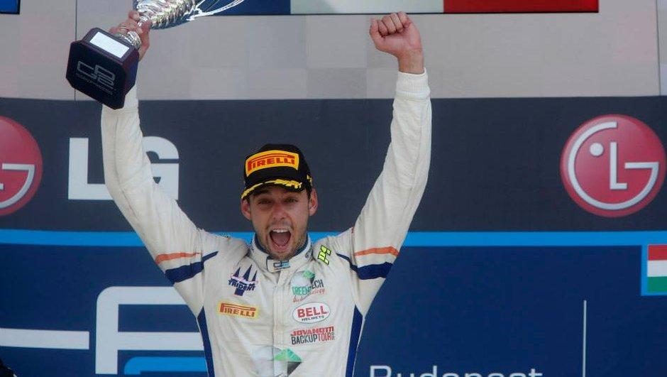 GP2 : Nathanaël Berton victorieux en Hongrie