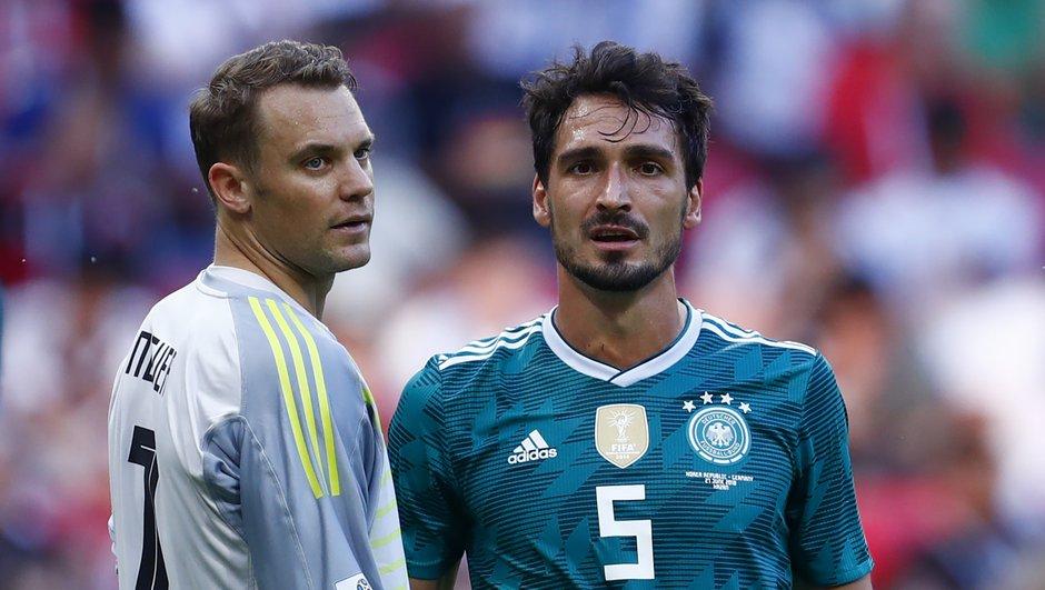 """""""C'est une heure sombre pour le football allemand"""" : Löw et les joueurs allemands réagissent à l'élimination de la Mannschaft"""