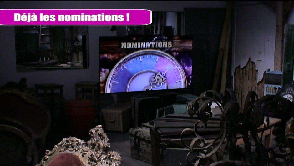 Ce soir dans la quotidienne: Des nominations en avance !