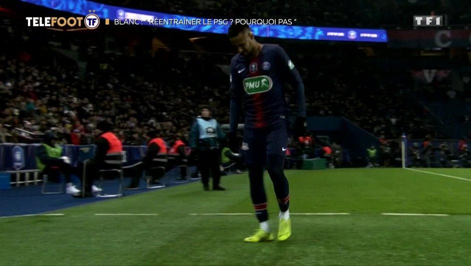 """[EXCLU Téléfoot 10/02] - Blanc : """"Le PSG est moins fort sans Neymar, c'est une certitude"""""""