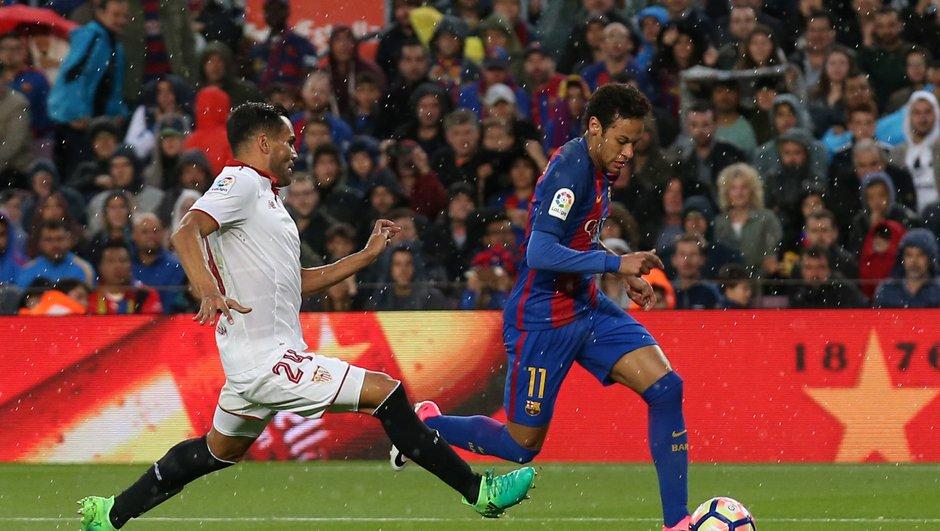 Liga - FC Barcelone : Au jeu du plus rapide, Neymar est le roi (au contraire de Messi et Suarez)
