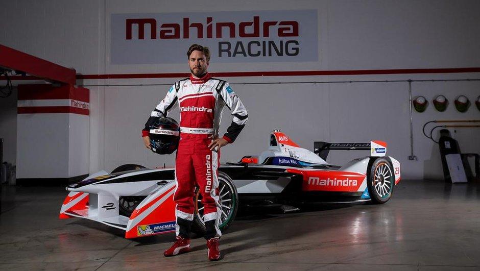 Formule E: Nick Heidfeld rejoint Mahindra Racing