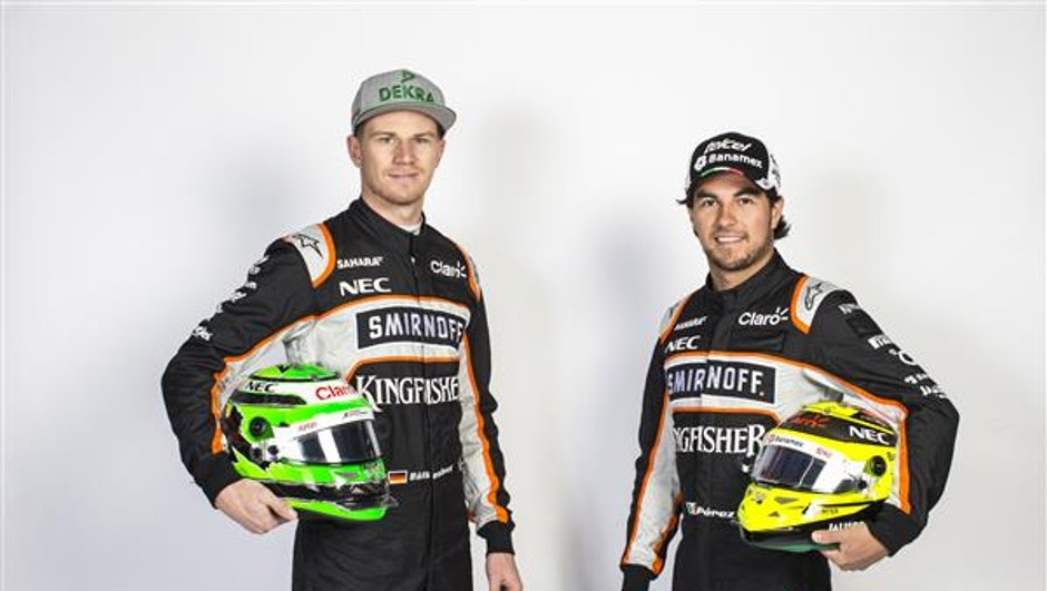 F1 2017 - Force India conserve Sergio Pérez et Nico Hülkenberg