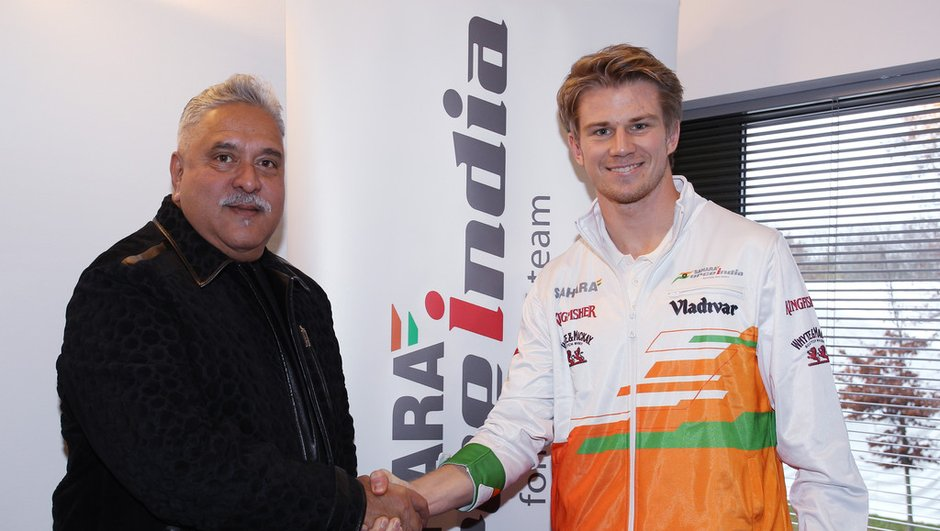 F1 : retour de Nico Hulkenberg chez Force India en 2014