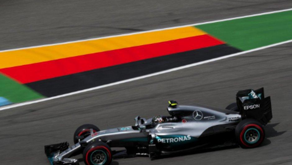 F1 - GP Allemagne 2016: Rosberg encore devant lors des essais libres 3