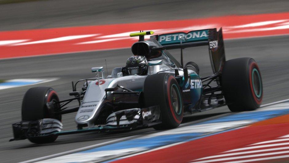 F1 - GP Allemagne 2016: la pole pour Rosberg, Ferrari larguée par Mercedes