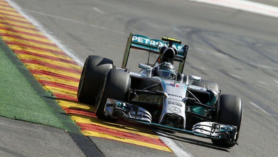 F1 - Essais 1 GP du Brésil 2014 : Rosberg frappe le premier