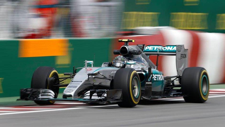 F1 GP du Canada 2015 : deux drapeaux rouges et Rosberg se place avant les qualifications