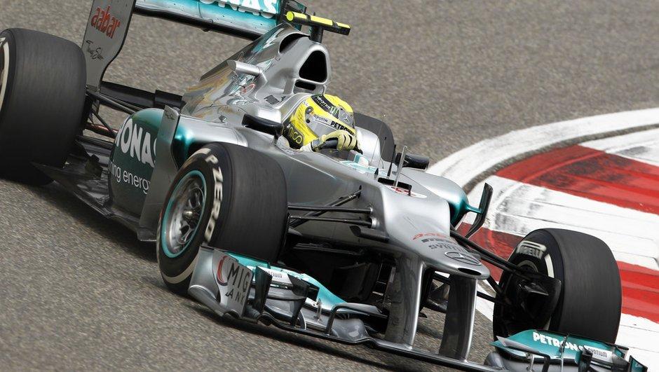 F1 : Rosberg remporte le GP de Chine