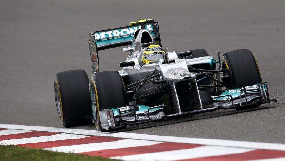 F1 : la grille de départ du GP de Chine