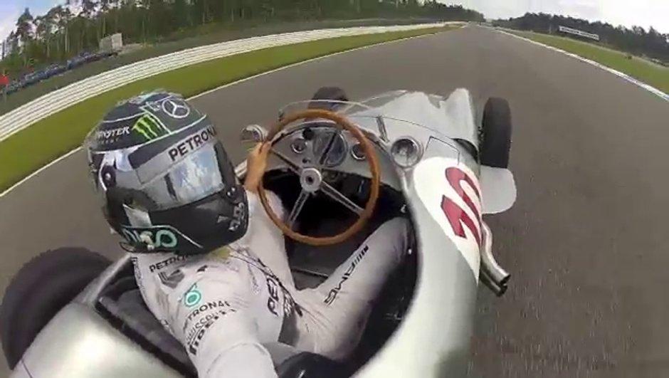 Vidéo Insolite : Nico Rosberg cède à la mode du selfie... en pilotant