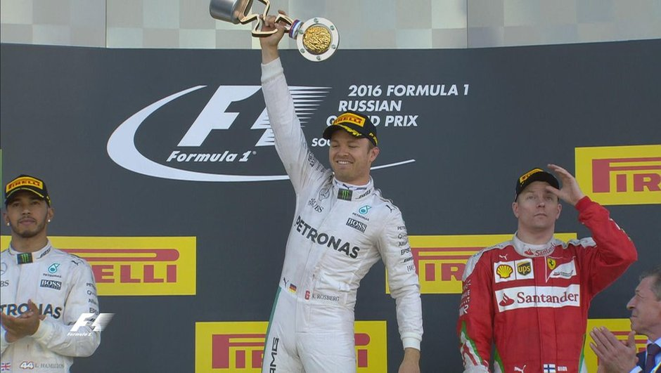 F1 - GP de Russie 2016 : Rosberg, puissance 4