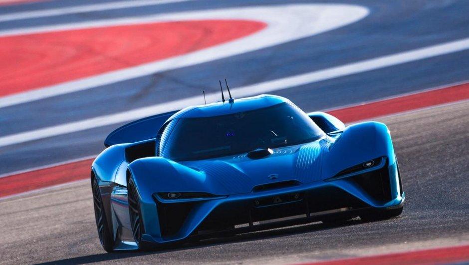 NIO EP9 : La supercar électrique et autonome signe un nouveau record