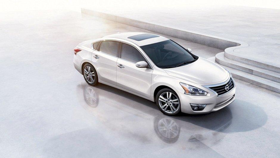 Salon de New York 2012 : nouvelle Nissan Altima, star du marché