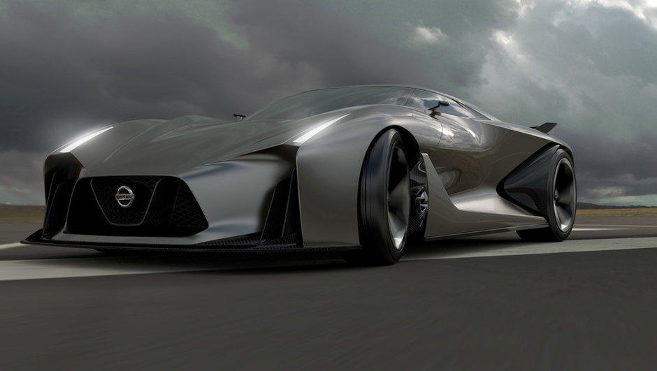 Nissan Concept 2020 Vision Gran Turismo : la GT-R du futur se dévoile