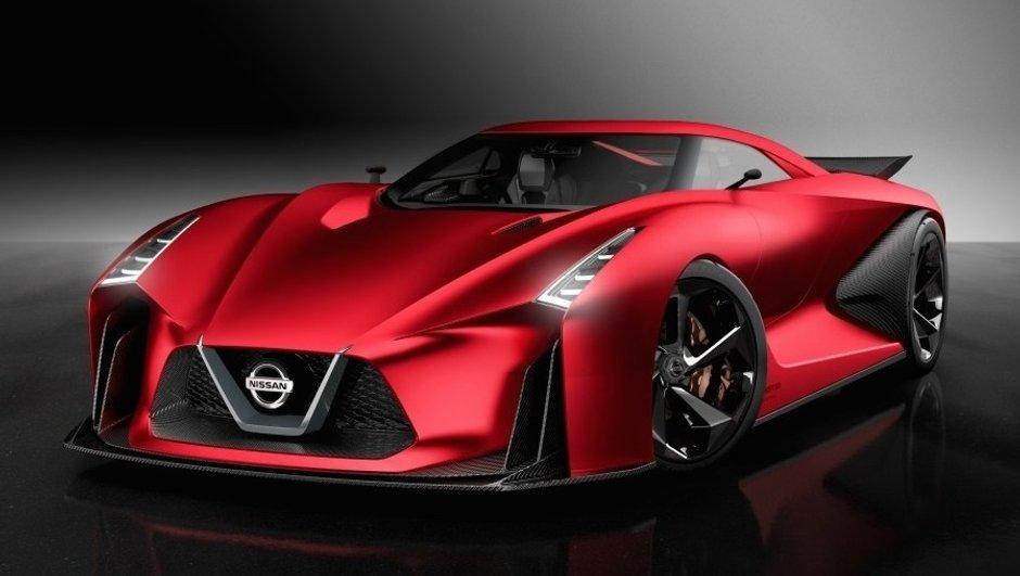 Salon de Tokyo 2015 : La Nissan Concept 2020 Vision GT voit rouge