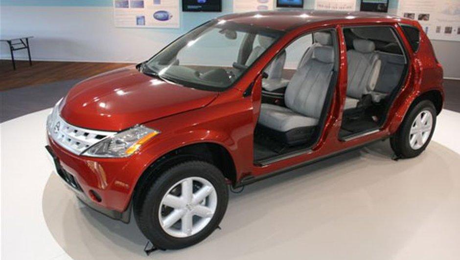 Nissan EA2 concept : mécanique électrique