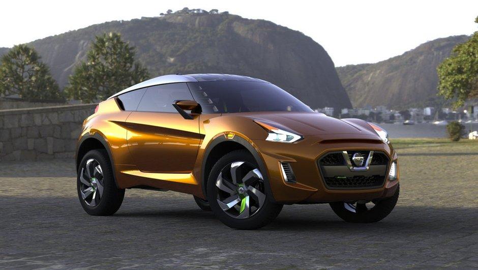Salon de Sao Paulo : Nissan Extrem Concept, exotique crossover