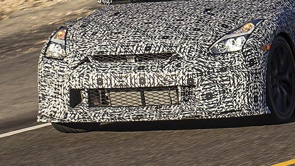 Scoop – La future Nissan GT-R camouflée aperçue sur les routes californiennes