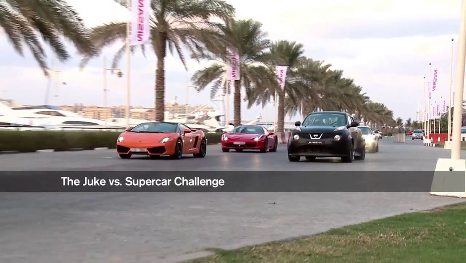 Vidéo : Nissan Juke-R vs Ferrari, Lamborghini et Mercedes !